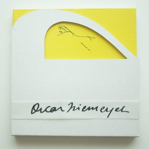 diseño editorial de catalogo de oscar niemeyer