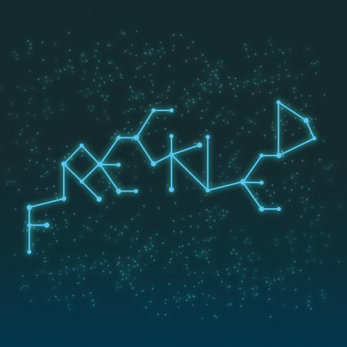 diseño de tipografia frecked