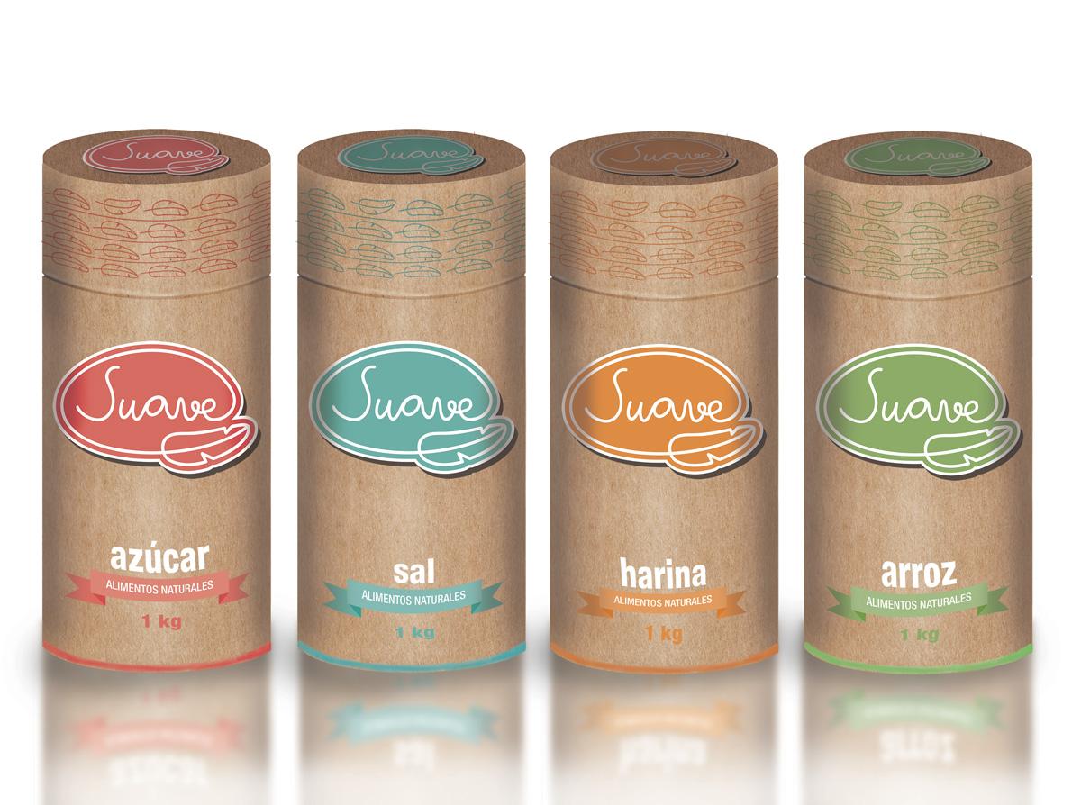 diseño y packaging productos suave